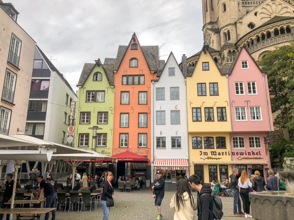 Cologne Fischmarkt (Colored houses) - Germany