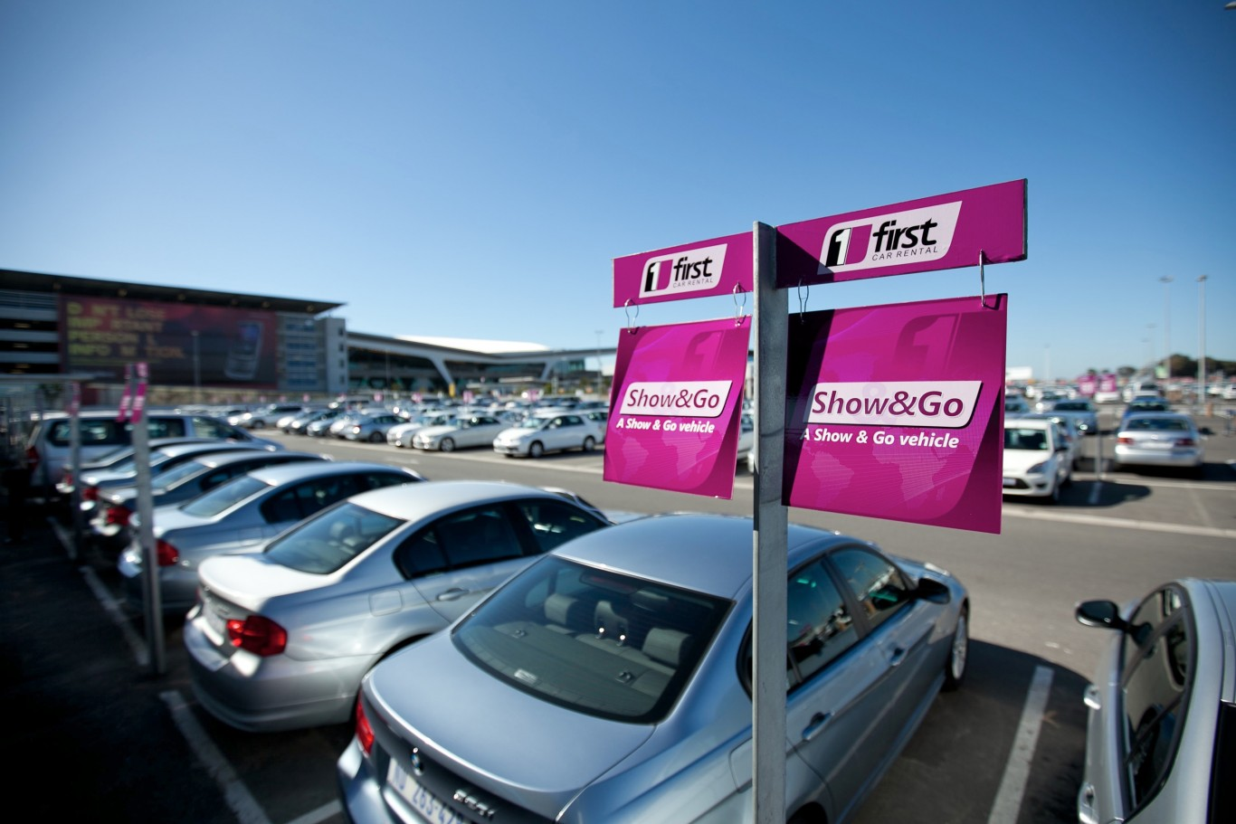 Top 10 car rental companies in South Africa
