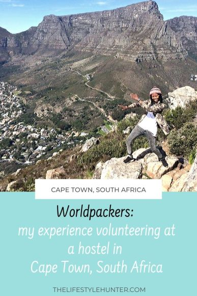 Worldpackers experience - The Backpack - South Africa