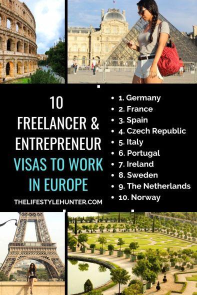 Freelancer visas Europe