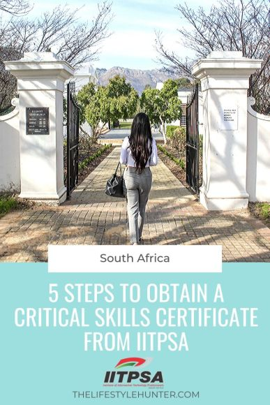 IITPSA Critical Skills Visa Business Analyst South Africa