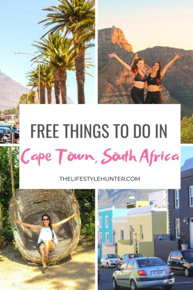 free activities cape town south africa