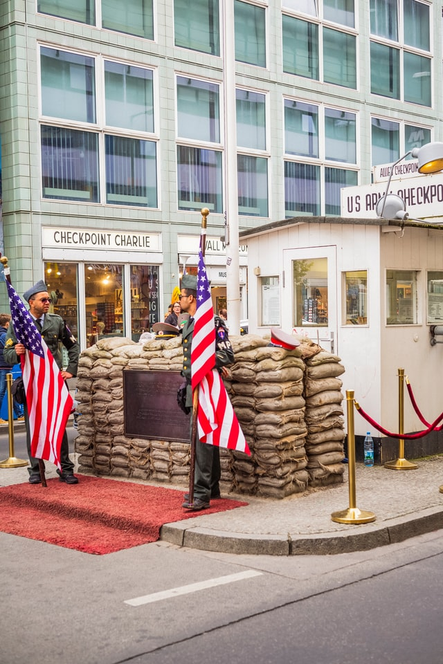 Berlin Germany 10 top places 8 Checkpoint Charlie