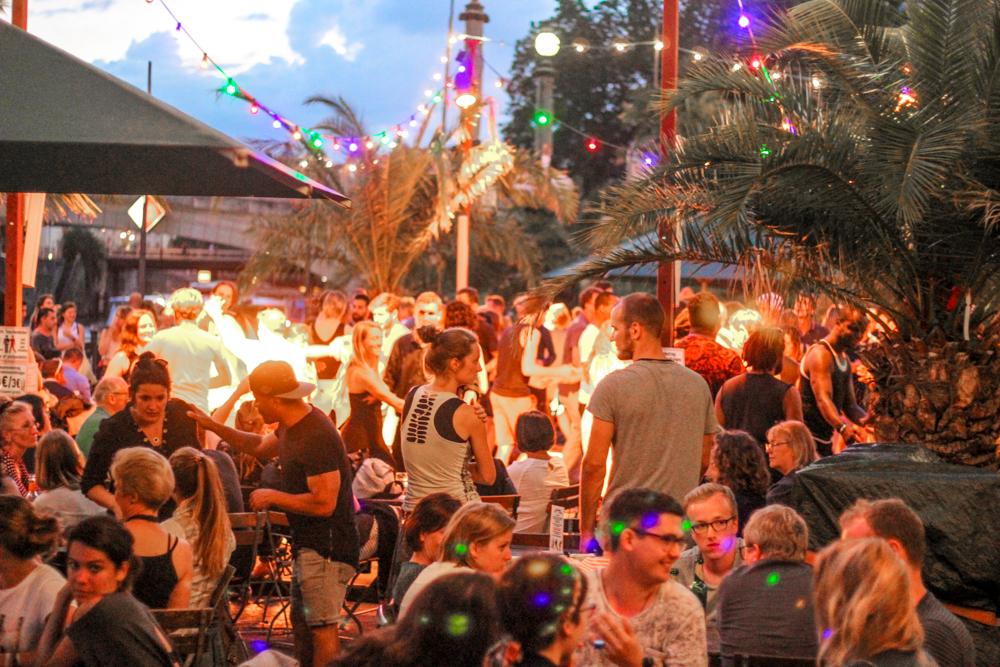 Berlin Germany museums island salsa night