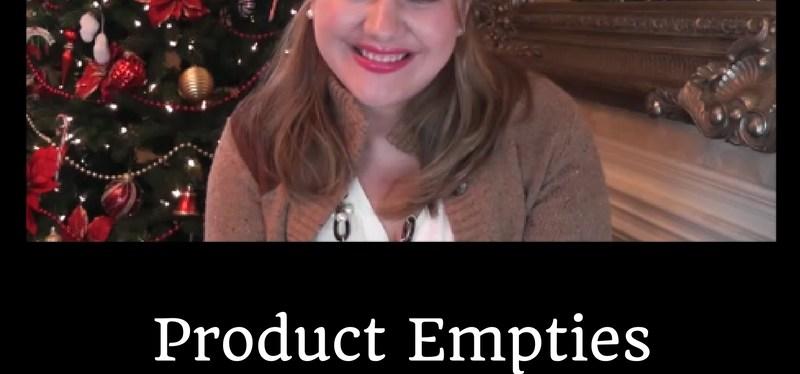 Product Empties Winter 2016