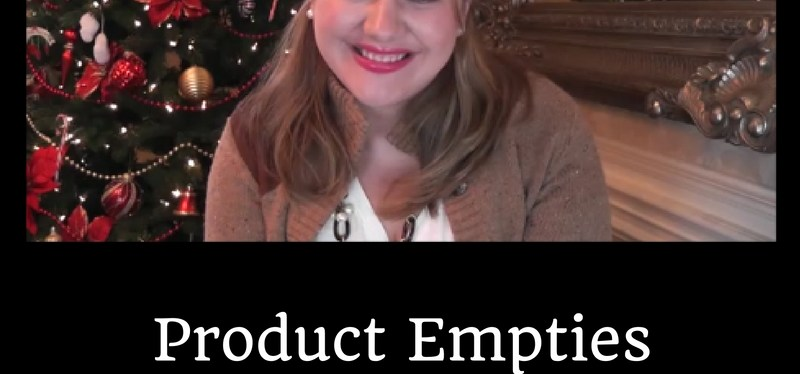 Product Empties Winter 2016