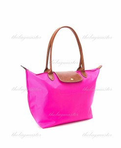Longchamp Le Pliage Large Long Handle- Candy