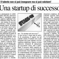 Il segreto di una startup di successo