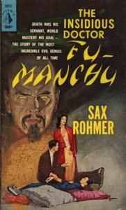 Fu Manchu by Sax Rohmer