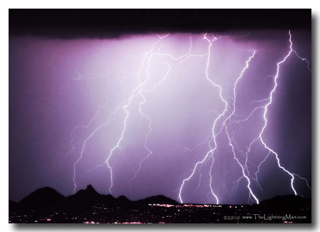 85255HzOrtADJ 600DSs North Scottsdale Zip Code 85255 Lightning Storm