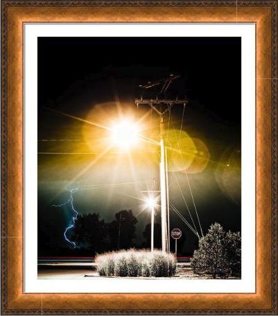Stop-IT- fine art photography Framed-Print