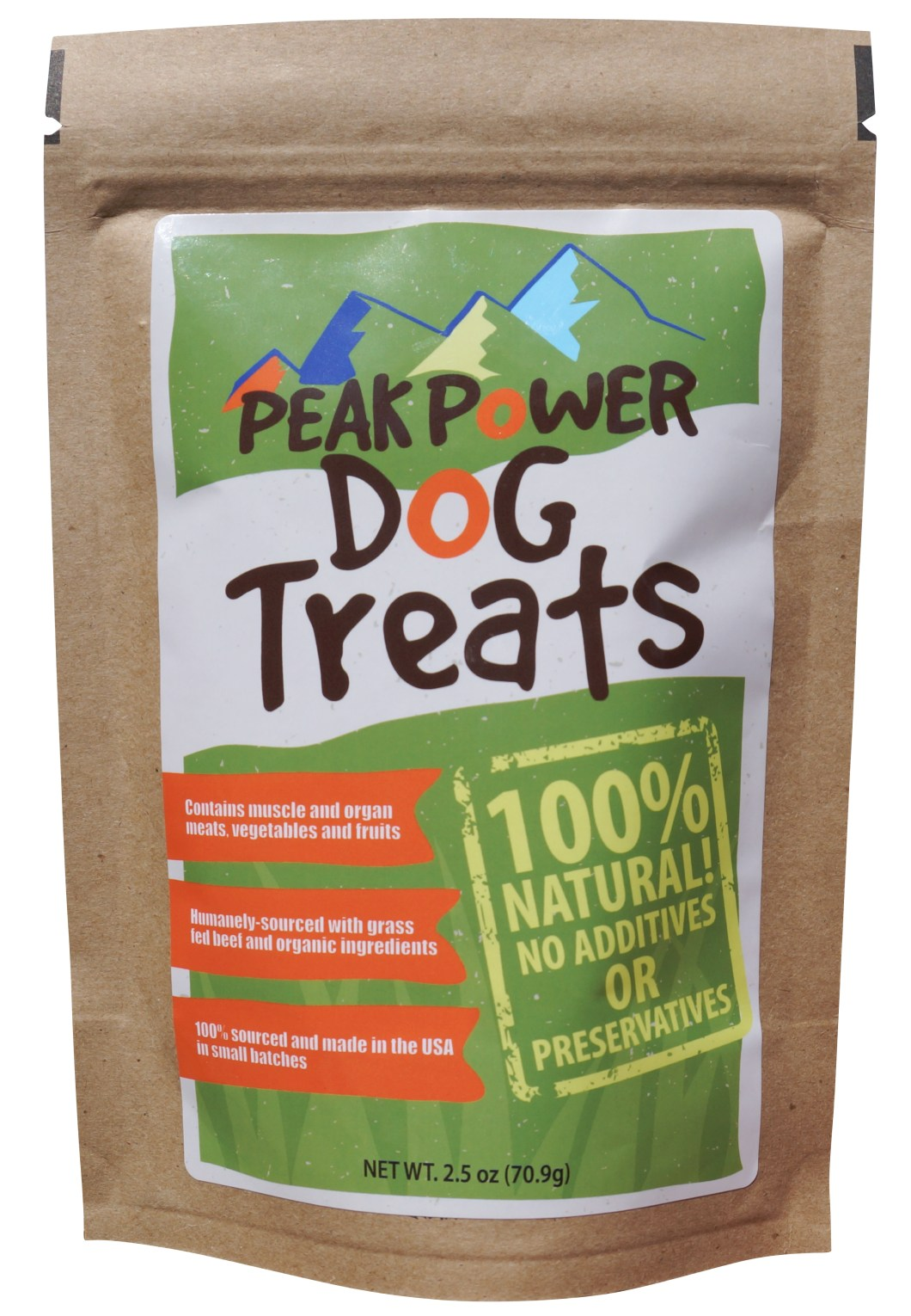 Peak Power Dog Treats