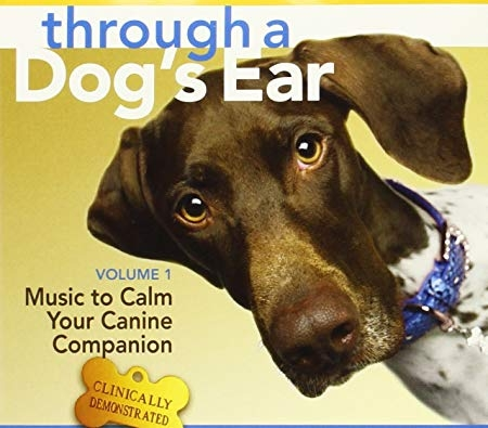 We have calming music we play for our dogs