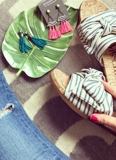 The Must Have Dupes of the Season! Slide Sandals with Bow Detail