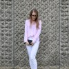 The Pink & White Shirt: The Lilly Mint Blog