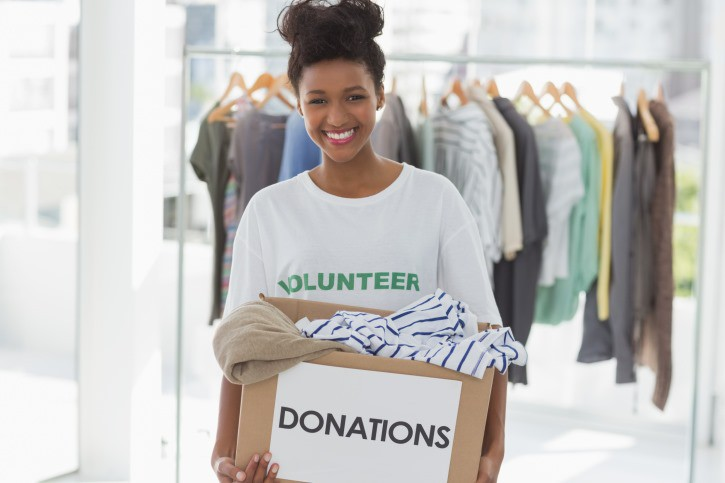 Image result for black woman volunteering