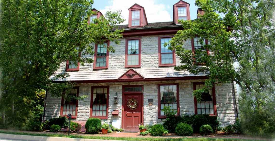 1786 The Limestone Inn Bed and Breakfast, Strasburg, Lancaster County PA