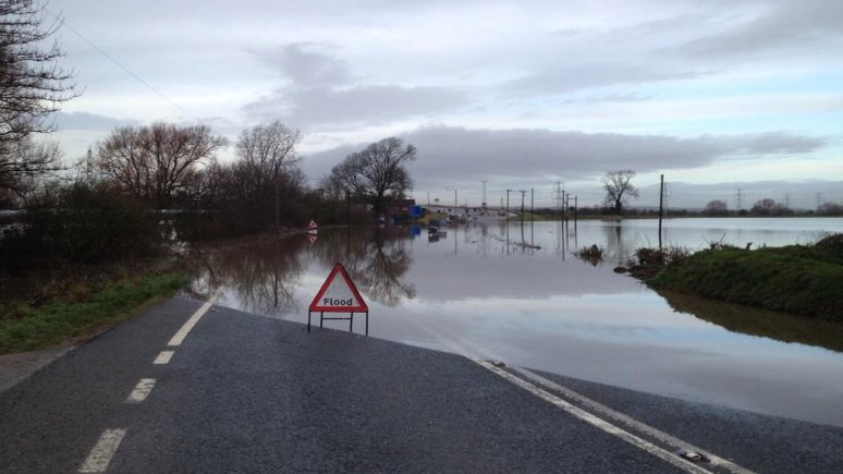 A57 at Dunham, near the toll bridge. Photo: Lincolnshire RPU