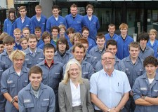 Siemens Lincoln took on 44 apprentices last year as part of a national scheme — more than double the usual intake.