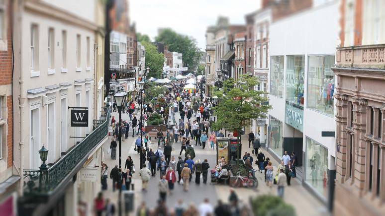 High Street shopping