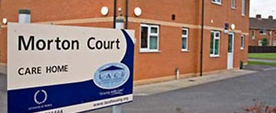 Morton Court care home in Lincoln