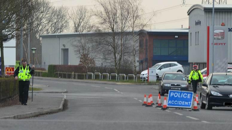 The scene of the incident at Gateway Park. Photo: John Edlin