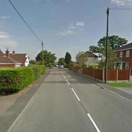 Chapel Lane in North Hykeham. Photo: Google Street View
