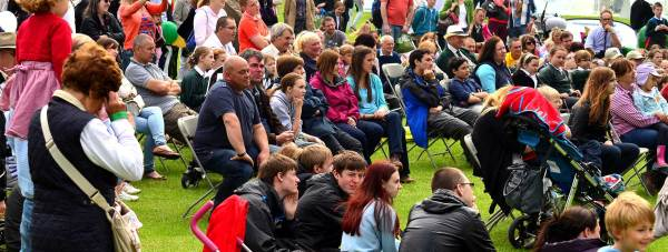 Visitors at the 2013 Lincolnshire Show. Photo: Steve Smailes for The Lincolnite