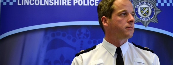 Lincolnshire Police Superintendent Paul Gibson