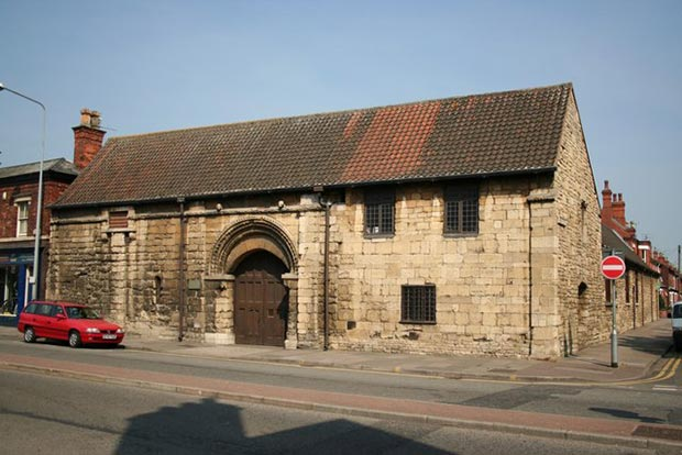 St. Mary's Guildhall on Lincoln High Street. Richard Croft