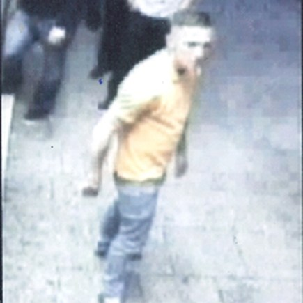 Police would like to speak to the male photographed in relation to the incident. Photo: Lincolnshire Police