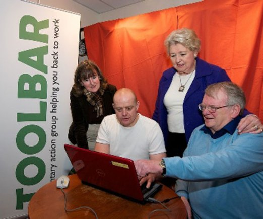 Toolbar-local.org.uk is website by a voluntary group helping jobseekers in Bourne. The project was supported by County Councillor Sue Woolley. Photo: LCC