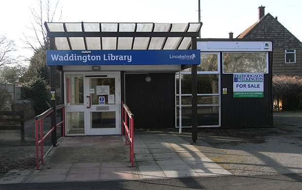 The original Waddington library.