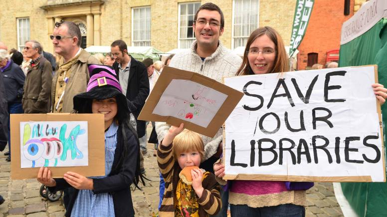 Protesters, many for the first time, rallied in Castle Square at 12pm. Photo: Steve Smailes for The Lincolnite