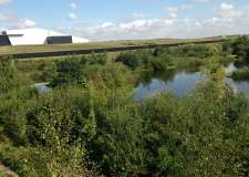 The Hykeham lakes are part of the 44 acres acquired by Stirlin Developments.