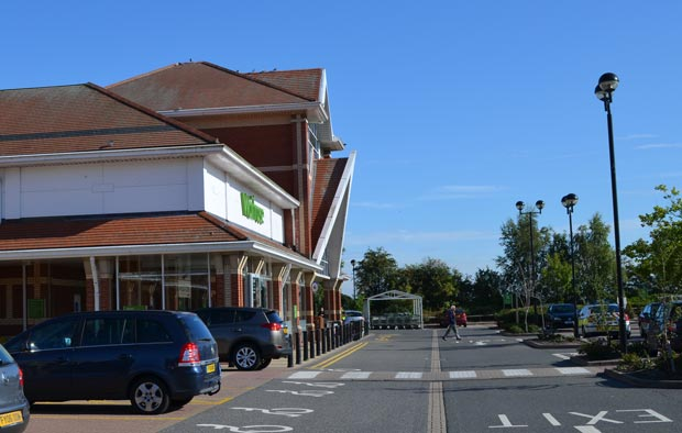 The attempted cash machines break-in at Waitrose Lincoln is believed to have happened between Sunday, September 8 and Monday, September 9.
