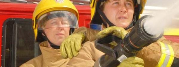 female-firefighter