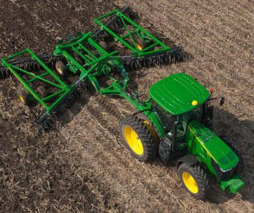 A typical John Deere green and yellow tractor. Photo: John Deere