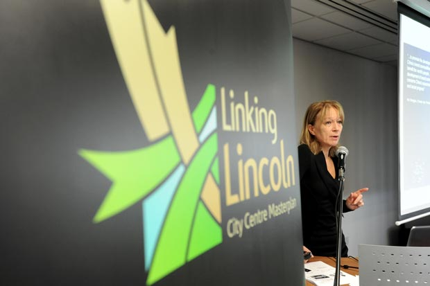International branding expert Rita Clifton said Lincoln is a city of substance, with a lot of beauties. Photo: Stuart Wilde