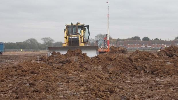 The construction project is scheduled to last 4 years, with the housing estimated to take two years to complete and Tesco beginning its building works in August 2014.