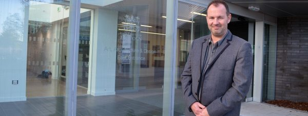 Dr Alec Shepley, Head of the Lincoln School of Art and Design.