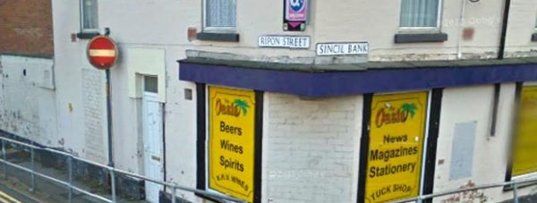 Oasis newsagents on Ripon Street in Lincoln. Photo: Google Street View