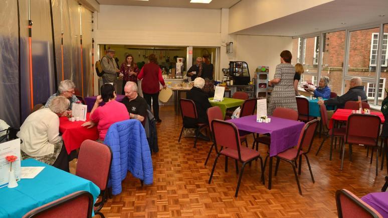 Age UK restaurant reopens on Park Street. Photo: Steve Smailes for The Linoclnite