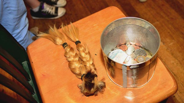Keavie-Jaye raised over £470 when she cut off her plaits for Children in Need. Photo: Steve Smailes for The LIncolnite