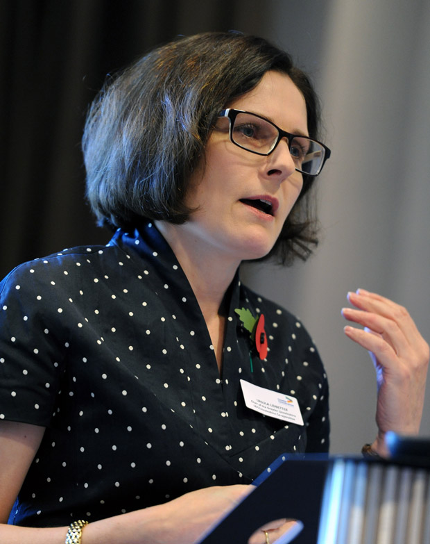 Ursula Lidbetter, Chair of the Greater Lincolnshire LEP and Lincolnshire Co-operative CEO. Photo: Stuart Wilde