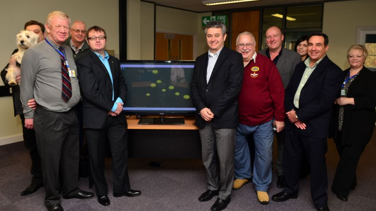 HILT Foundation welcome new NeuroTracker technology. Photo: Steve Smailes for The Lincolnite