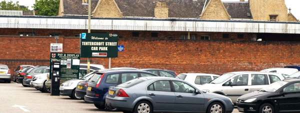 The Tentercroft Street car park from the City of Lincoln Council. Photo: File/The Lincolnite