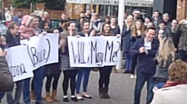 lincoln-flashmob-proposal