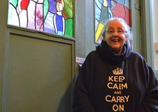 Centre manager Caroline Boltz has been 'keeping calm' and is looking forward to a grand recovery. Photo: Emily Norton