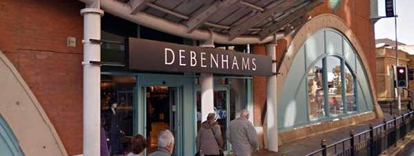 Debenhams in St Mark's in Lincoln. Photo: Google Street View